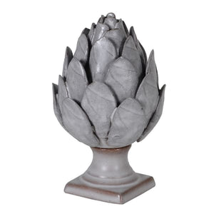 Grey Ceramic Artichoke