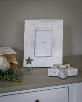 Star Cut Out Photo Frame