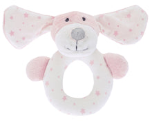 Load image into Gallery viewer, Waltons Pink Puppy Rattle