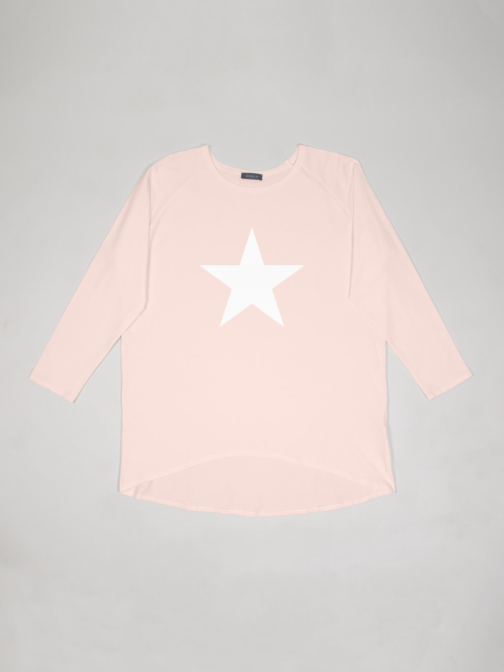 Pink Robyn Top (White Star)