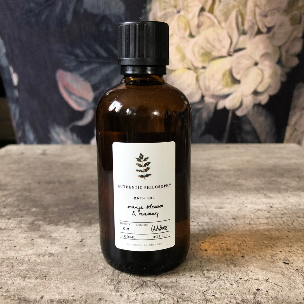 Authentic Philosophy Mango Blossom & Rosemary Bath Oil