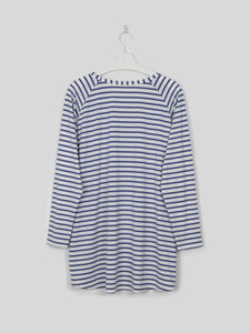 Robyn Top - Blue Stripe