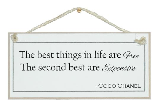 """Best Things In Life Are Free"