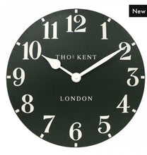 "Load image into Gallery viewer, Thomas Kent 20"" Arabic Forest Wall Clock"