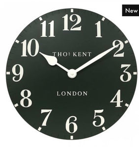 "Thomas Kent 20"" Arabic Forest Wall Clock"