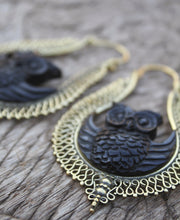 Load image into Gallery viewer, OWL EARRINGS
