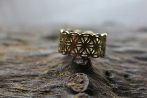 UNISEX BRASS RING