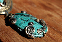 Load image into Gallery viewer, CHRYSOCOLLA NECKLACE