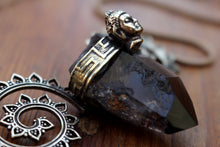 Load image into Gallery viewer, SMOKEY QUARTZ NECKLACE