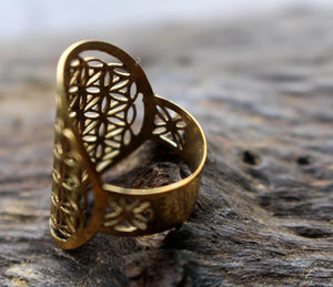 SACRED GEOMETRY RING
