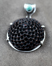Load image into Gallery viewer, SILVER PROTEA FLOWER PENDANTS