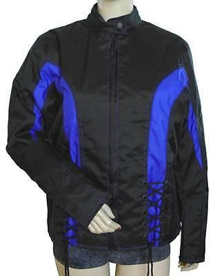 VL1551 Vance Leather Black Ladies Reflective Skull Crystal Jacket with Color Accents - Daytona Bikers Wear