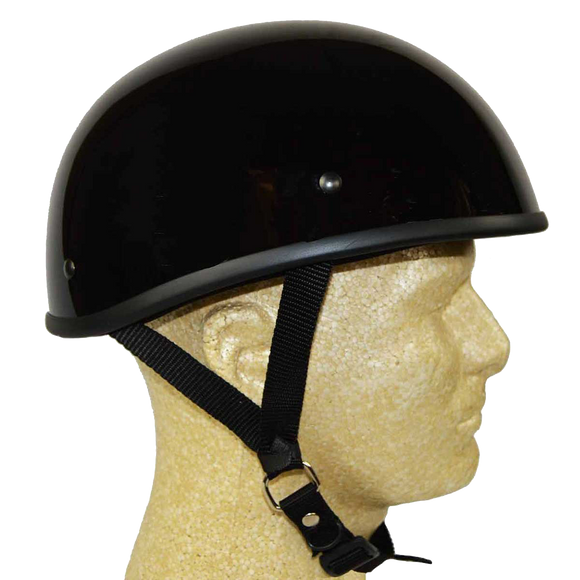 HD2101 DOT Helmet Gloss Black Eagle