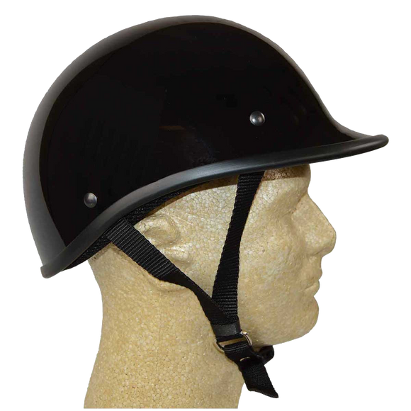 HD2104 DOT Helmet Gloss Black Polo