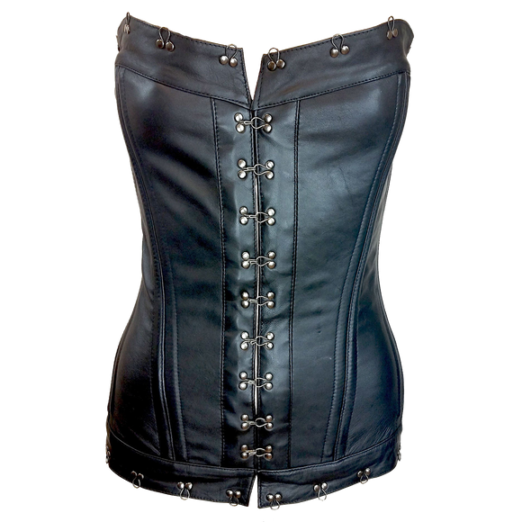 VC1339 Vance Leather Ladies Corset with Hook and Eye Closure