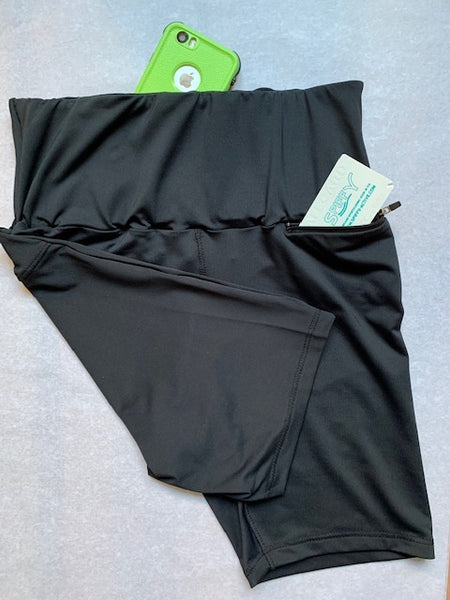 Shorty korte legging black