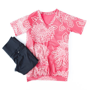 Flow shirt raspberry