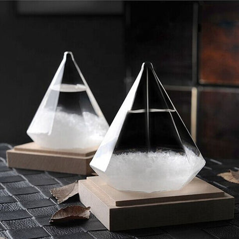 Glass Storm Home Decoration - Diamond Shape - SUPERIORS STORE