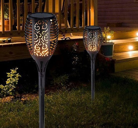Waterproof Solar Torch Light - SUPERIORS STORE