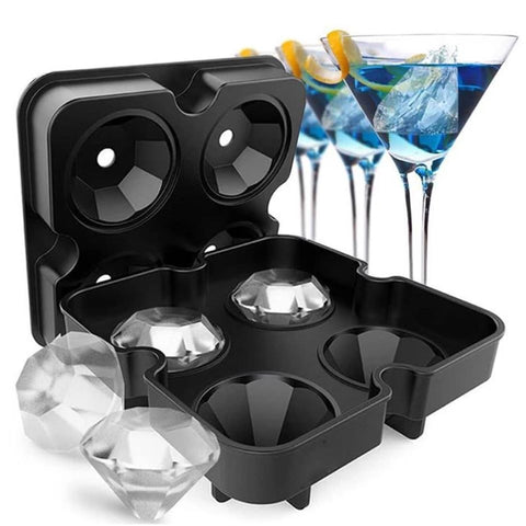Diamond Ice Cube Mold - 1 Set = 5 Pecs - SUPERIORS STORE