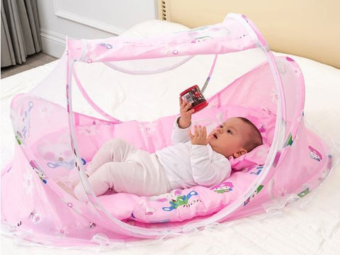Baby Travel Bed - With Mosquito net - Superiors Store