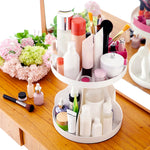 Multi-functional Round Cosmetics Storage Box - SUPERIORS STORE