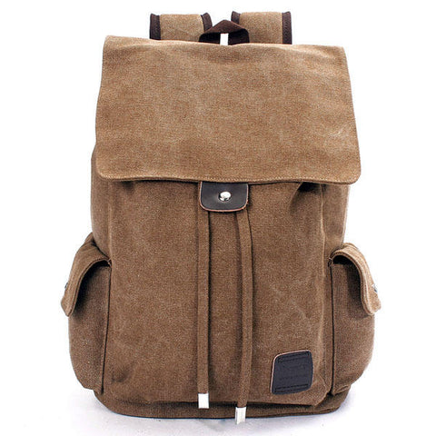Men Outdoor Canvas Backpack - SUPERIORS STORE
