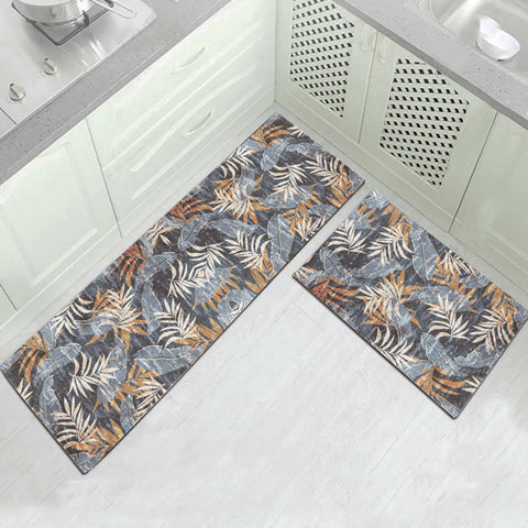 Grey Leaf Carpet - Indoor Mat - SUPERIORS STORE