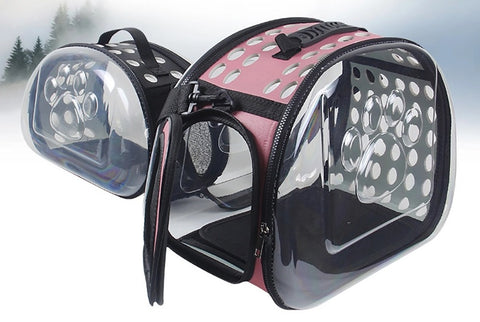 Transparent Pet Carrier - Modern Design - Superiors Store