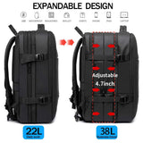 Expandable Large Capacity Backpack - SUPERIORS STORE