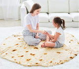 High Quality Cotton Blanket - Burrito & Pizza Style - Superiors Store