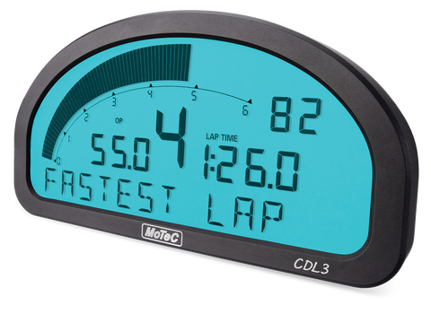 CDL3 - CLUB DASH LOGGER BACKLIT (Enabled + I/O and Logging Incl)