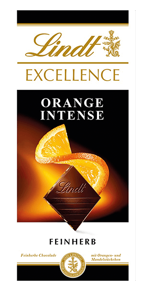 LINDT EXCELLENCE ORANGE - Tee Zwanck