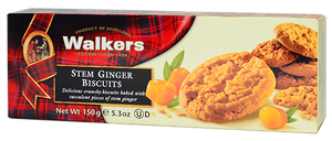 """WALKERS"" STEM GINGER BISCUITS - Tee Zwanck"