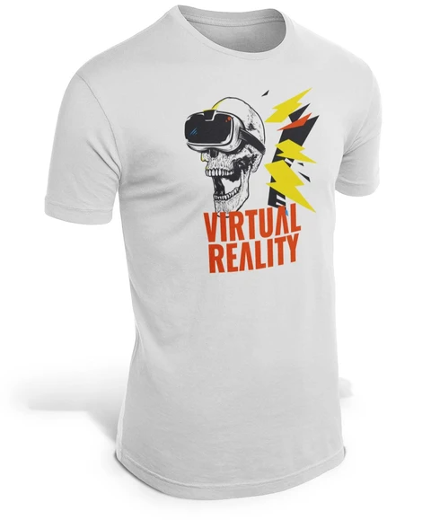 CAMISETA CALAVERA REALIDAD VIRTUAL