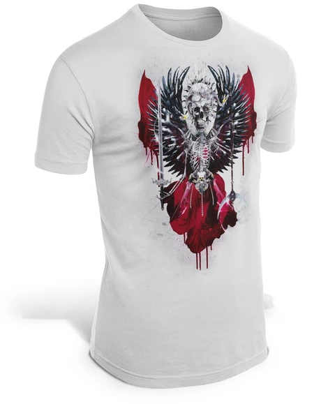 camiseta calavera up