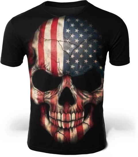 camiseta de calaveras exclusiva