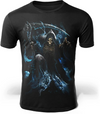 camiseta calavera warrior