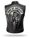 chaqueta de cuero sons of anarchy