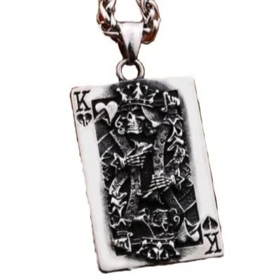 collar calavera poker