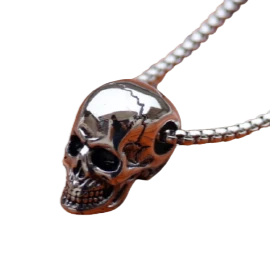 brillante collar calavera