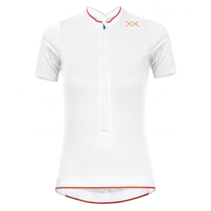 pura woman cycling jersey white