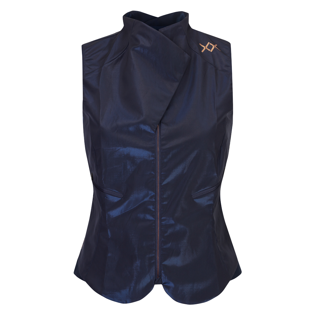 woman cycling vest stella