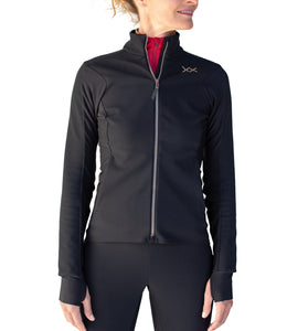 Sublime winter bike softshell jacket black