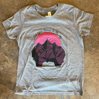 ASCEND T-Shirt - Purple Arch Boulder & Pittsburgh City Outline Logo