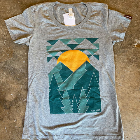 ASCEND Mountain Peaks T-Shirt
