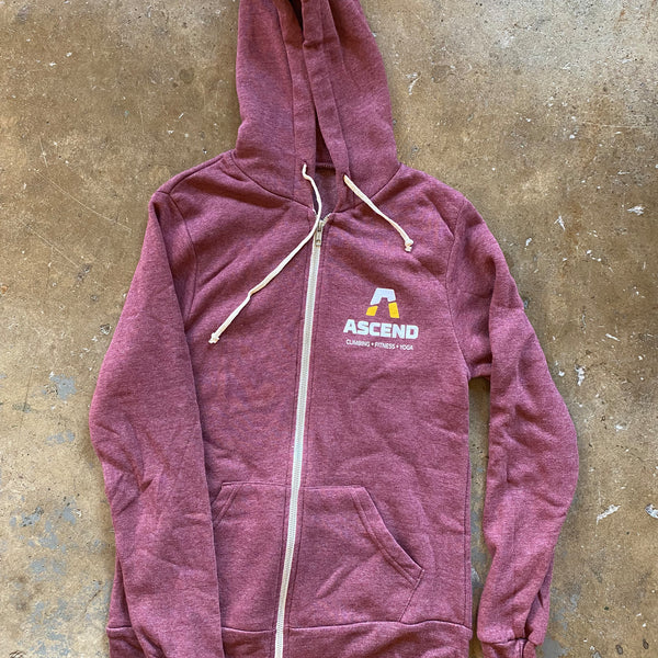Hoodie - ASCEND Bubble Logo Vertical