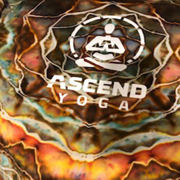 Tie Dyed Long Sleeve Shirt - ASCEND Yoga Logo