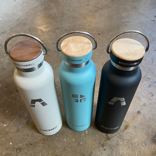 Earthwell Insulated Bottle with ASCEND Logo