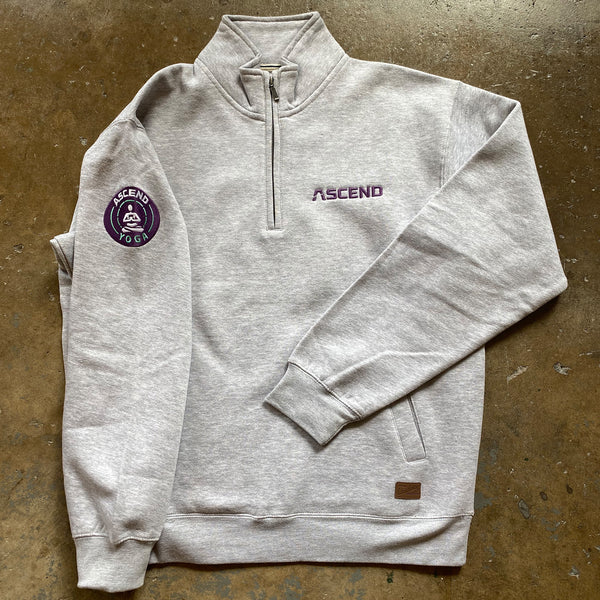 ASCEND Yoga 1/4 Zip Pull-Over